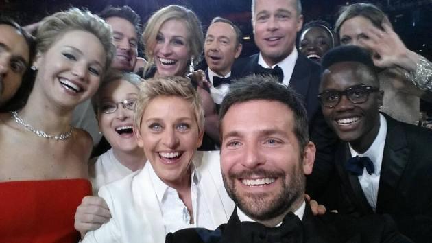 Selfie da Oscar